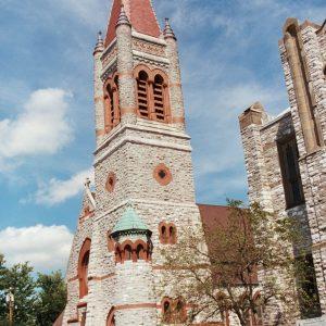 Trinity Episcopal Church Steeple Restoration Holmes King